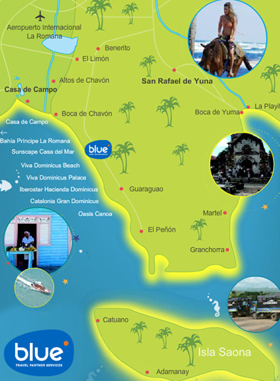 Blue Travel Partner Services Dominican Republic Tourist Destinations